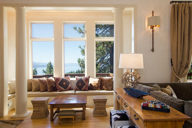 Interior Design Photo Shoot For Lake Tahoe Mountain Home Eclectic Living Room Other Metro