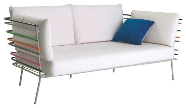 ferr sofa bauhaus look gartensofas von flodeau. Black Bedroom Furniture Sets. Home Design Ideas