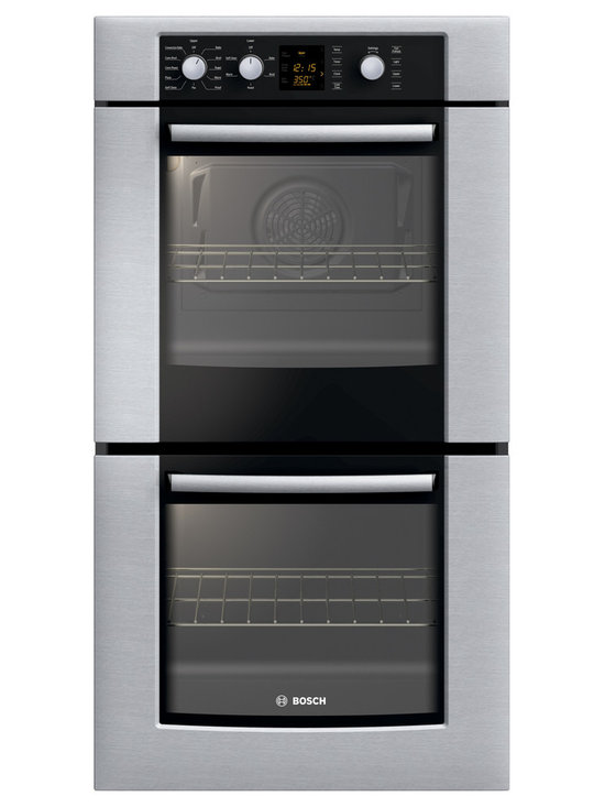 "Bosch 27"" 300 Series Double Wall Oven With Convection, Stainless 