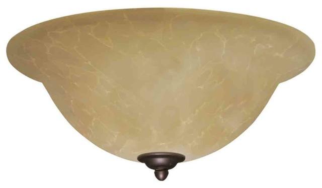 Emerson Fans LK71 Amber Parchment Light Kit contemporary-ceiling-fan-accessories