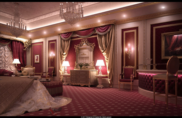 George v private royal suite by straightline interiors for Straight line interiors