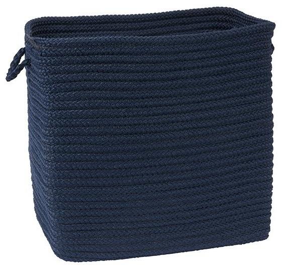Merveilleux Navy Blue Storage Baskets