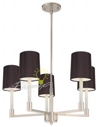 Trivoli 5 Light Round Pendant modern-pendant-lighting