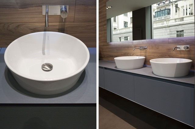 PILA top mount sink - Modern - Bathroom Sinks - miami - by antoniolupi ...