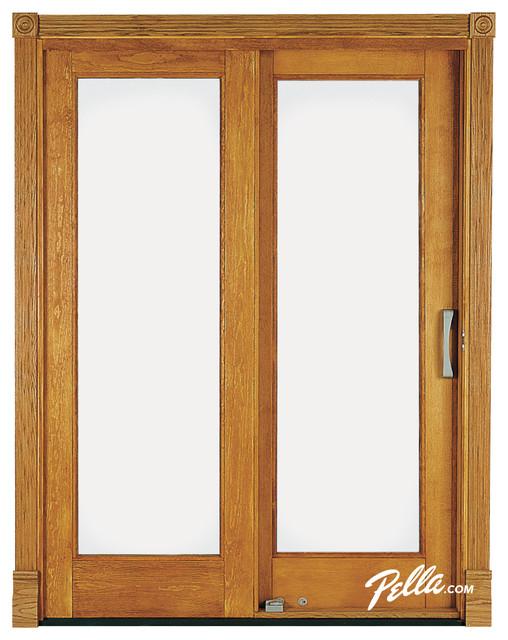 Pella® Architect Series® sliding patio door - Contemporary - Patio Doors - other metro - by ...