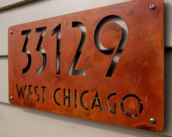 Address Plaques -