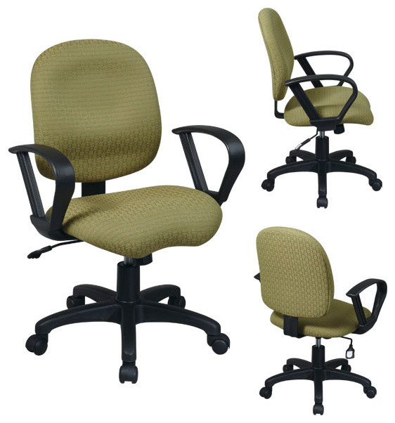 Task Chair with Contemporary Loop Arms modern-task-chairs
