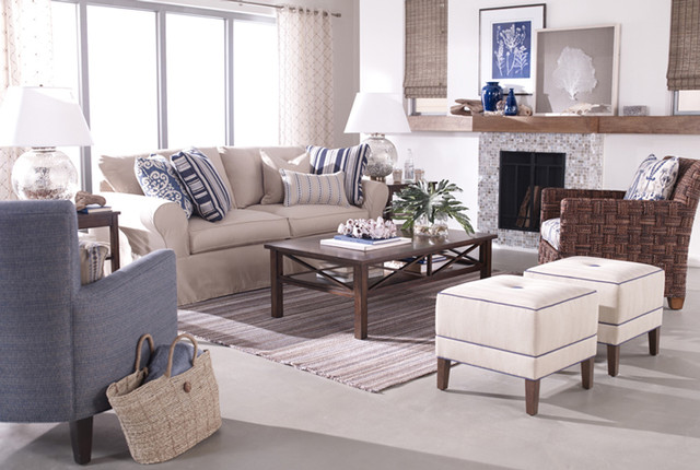 Lovely Living Rooms Traditional Living Room Other Metro By Ethan Allen