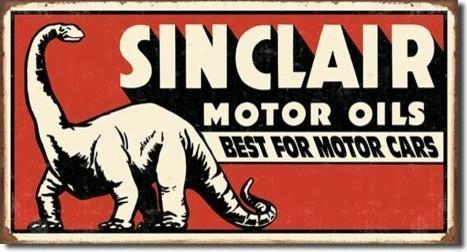 Sinclair Oil Dinosaur 16 x 12 Nostalgic Metal Sign modern-home-decor