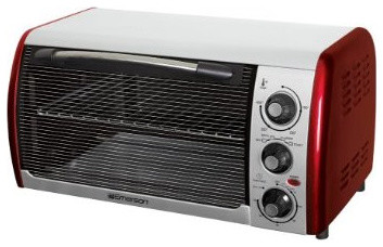 Emerson Countertop Convection Oven : Emerson Six Slice Toaster Over - Eclectic - Toaster Ovens - by Target