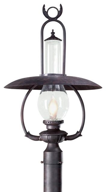 "La Grange 27"" High Outdoor Post Mount Light traditional-post-lanterns"
