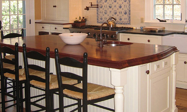 Mahogany Wood Kitchen Countertop By Grothouse