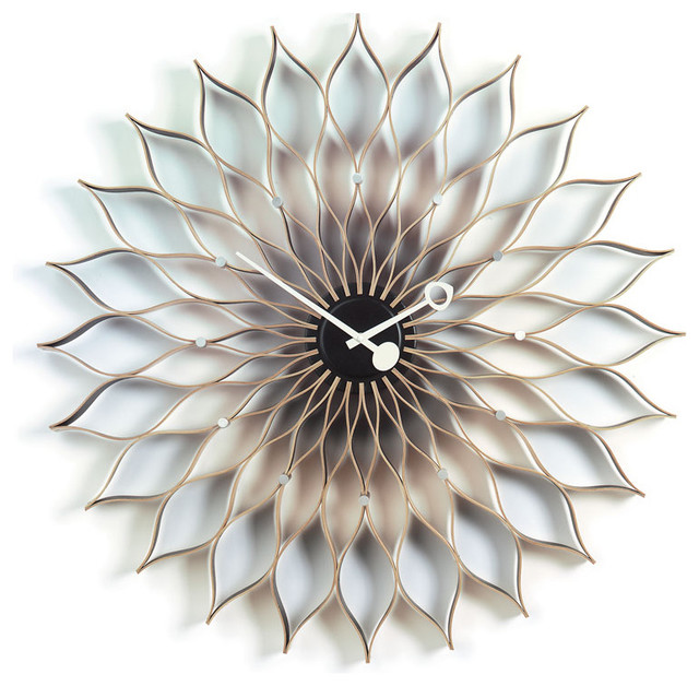 George Nelson Sunflower Clock by Vitra modern-clocks