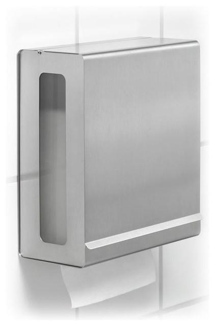 Nexio Stainless Steel Paper Towel Dispenser contemporary-paper-towel-holders