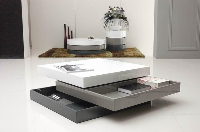 Trio-2 Square Coffee Table