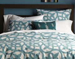 Organic Ironwork Duvet Cover transitional-duvet-covers-and-duvet-sets