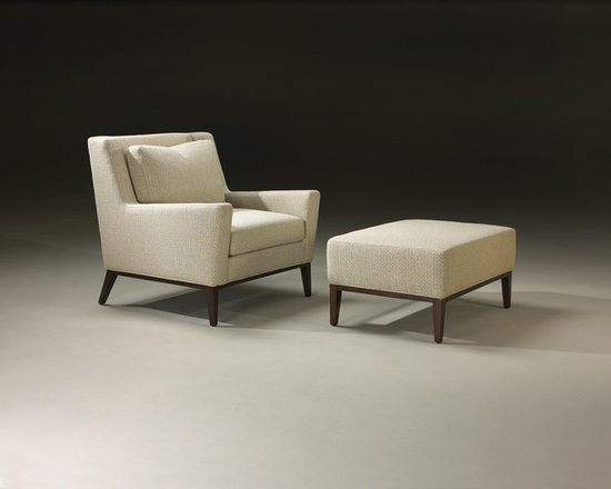 Thayer Coggin - Modern Lite Chair and Ottoman from Thayer Coggin - Thayer Coggin Inc.
