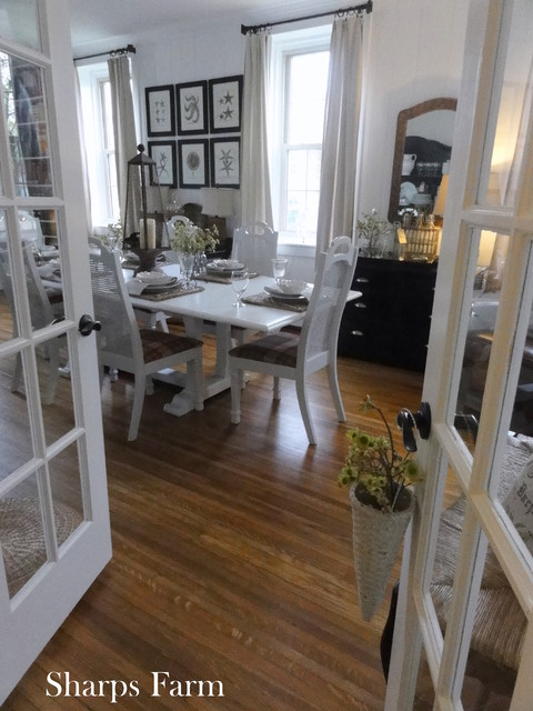 Sharps Farm eclectic-dining-room