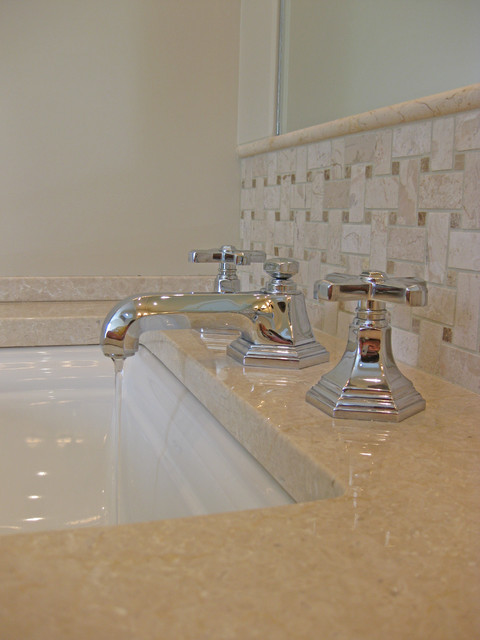 Sink and Bathroom Faucet traditional