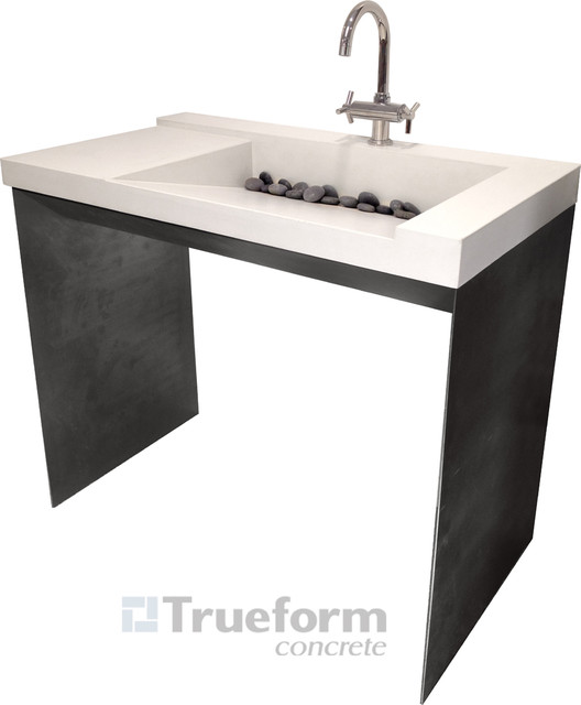 Trueform Concrete contemporary bathroom sinks