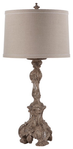 Canterbury Lamp eclectic-table-lamps
