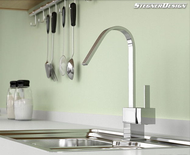 ... Chrome Kitchen Faucet - Modern - Kitchen Faucets - by sinofaucet