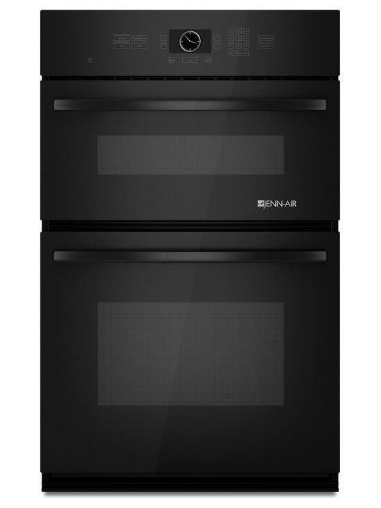 """Jenn-Air 27"""" Combination Microwave/wall Oven, Black On Black 