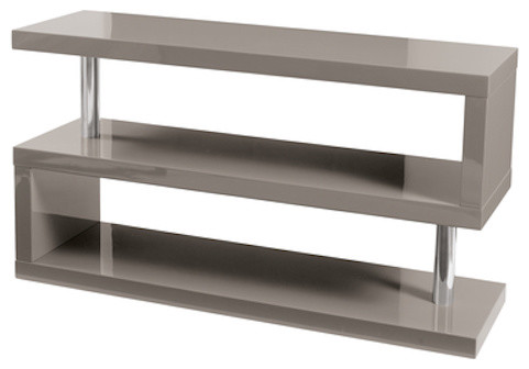 Contour TV Bench contemporary media storage