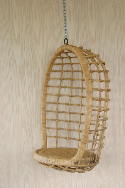 Vintage Childrens Rattan Egg Chair by The Farmers Shop contemporary kids chairs