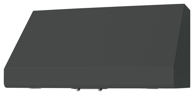"""36"""" Prizer Incline Hood in Tarpaulin Grey (RAL 7010) - Range Hoods And Vents - other metro - by ..."""