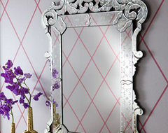 """""""Margaux"""" Venetian-Style Mirror traditional-wall-mirrors"""