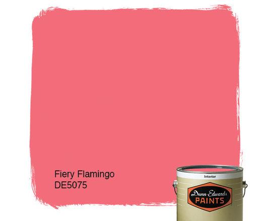 Dunn-Edwards Paints Fiery Flamingo DE5075 -