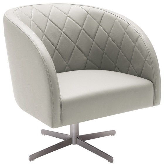 Boulevard Swivel Armchair Modern Armchairs And Accent
