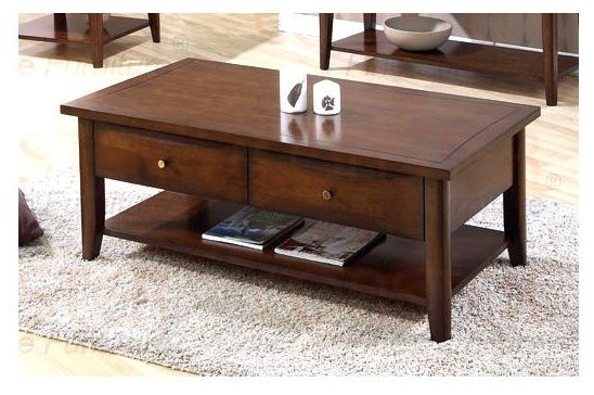Whitehall Coffee Table (Walnut) contemporary-coffee-tables