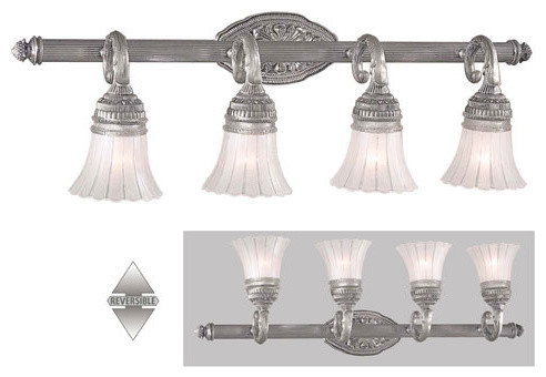Europa Four-Light Bath Fixture traditional-bathroom-vanity-lighting