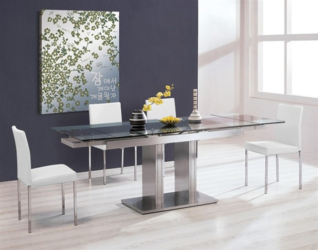 Zoe Expandable Dining Set 1 Modern Dining