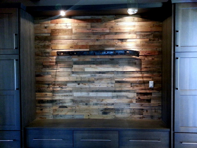 Recycled Pallet Wood Paneling Rustic Wall Panels