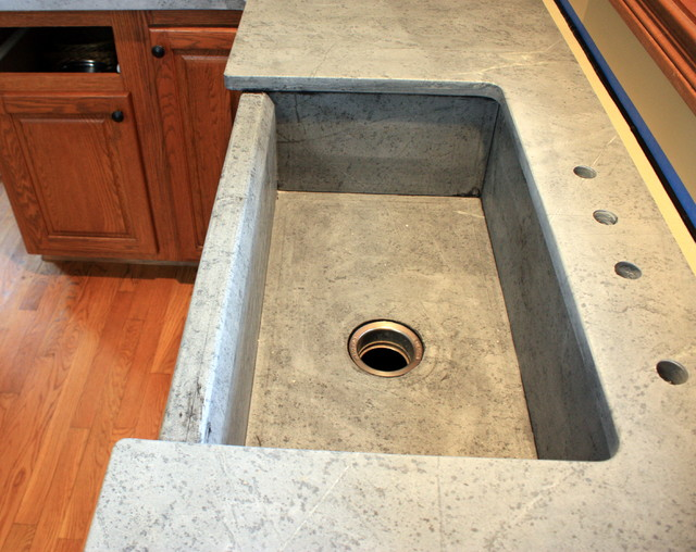 Soapstone Sinks Farmhouse Kitchen Sinks cincinnati by The Stone Studio