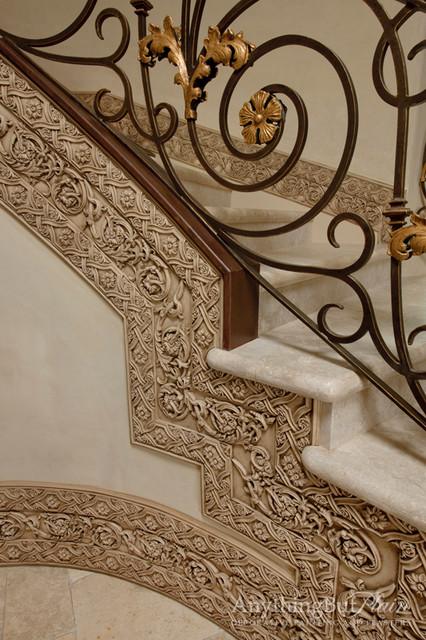 Gilded Iron with Glazed Molding mirrors