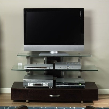 """50"""" Flat Panel TV Stand modern-entertainment-centers-and-tv-stands"""