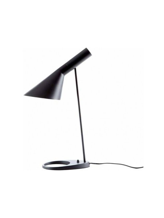 Arne Jacobsen Louis Poulsen AJ Table Lamp Reproduction Lamp - Arne Emil Jacobsen (11 February 1902 – 24 March 1971) was a Danish architect and designer. He is remembered for his contribution to architectural Functionalism as well as for the worldwide success he enjoyed with simple but effective chair designs