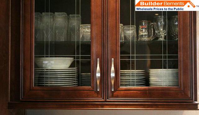 RTA Kitchen Cabinets_Chocolate Maple Glazed Kitchen Cabinets - Modern ...