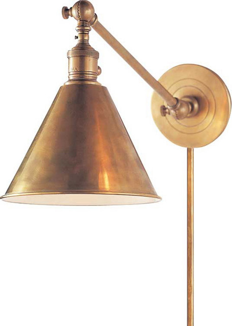 Boston Functional Library Wall Light - Eclectic - Wall Sconces - other metro - by Circa Lighting