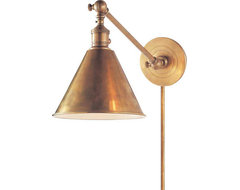 Boston Functional Library Wall Light eclectic-kitchen-lighting-and-cabinet-lighting