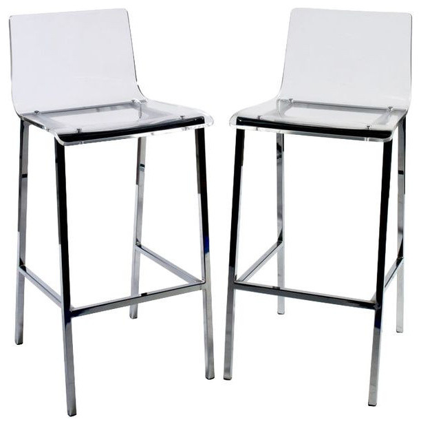 Sold Out Pair Of Cb2 Vapor Barstools 400 Est Retail