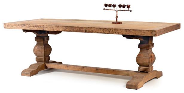 how to build a 4 post douglas fir farmhouse table