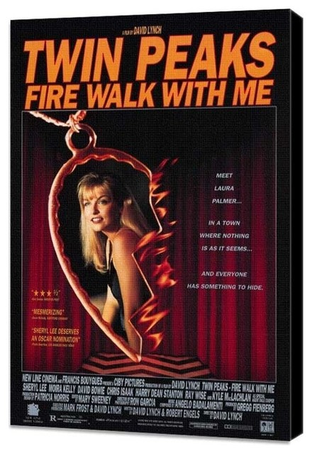 Twin Peaks: Fire Walk With Me 11 x 17 Movie Poster - Style B - Museum Wrapped Ca prints-and-posters
