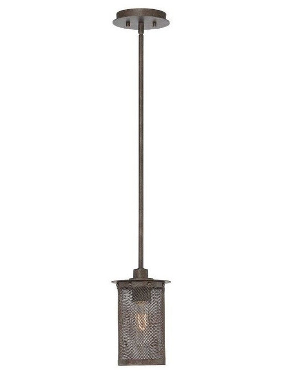 Introductions Straight From Dallas Lighting Market - Industrialized lighting is perfect for barn-inspired homes and open floor planned lofts. A highly textured combination of latticework hardware finished in gilded bronze, this mini pendant makes use of eye-catching exposed nostalgia bulbs.
