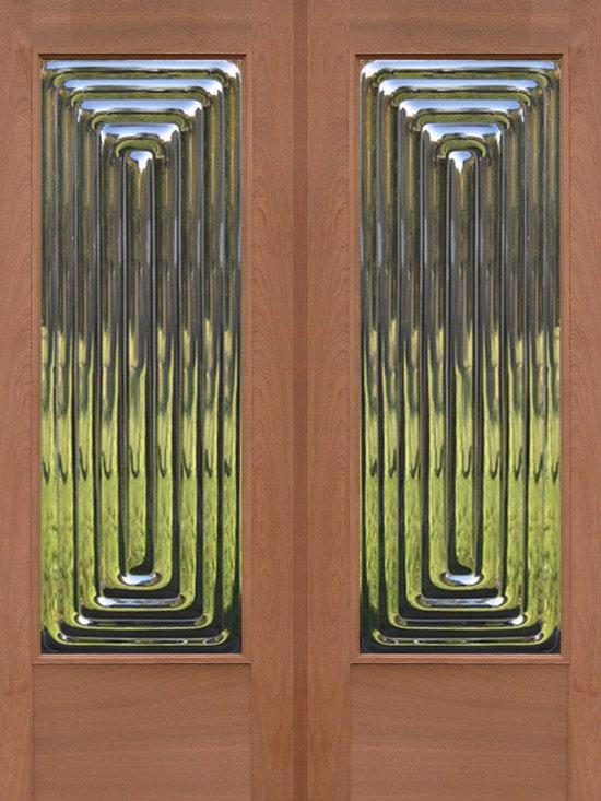 Sculptural Glass Doors - ClearCast Glass Door Collection -