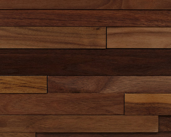 Walnut Wood Planking - Wood Wall Cladding: add a warm, contemporary feel to your interior. Studio V129's cladding is eco-responsible, installs quickly, and made in a stunning range of hardwoods.